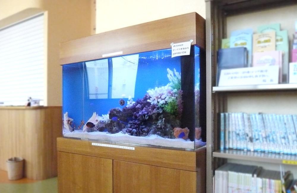 千葉県 病院様  90cm海水魚水槽  販売・メンテナンス事例 メイン画像