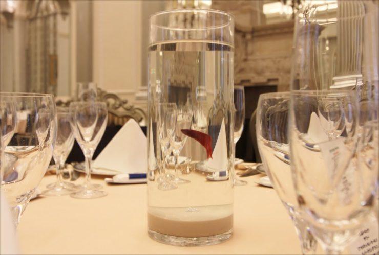 さいたま市 結婚式場 卓上水槽レンタル アクアリウムウェディング事例 水槽画像2