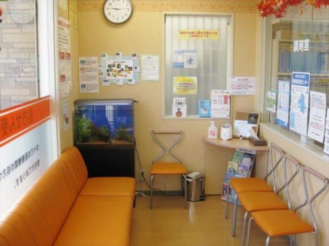 東京都板橋区 薬局様  60cm淡水魚水槽  設置事例 メイン画像