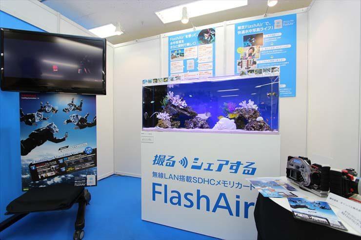 東京都豊島区 サンシャインイベント  水槽設置事例 メイン画像