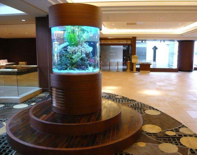 シェラトン・グランデ・トーキョーベイ・ホテル様 水槽設置事例