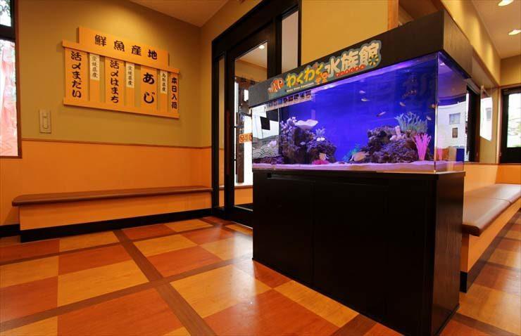 東京都練馬区 飲食店様  120cm海水魚水槽  設置事例 メイン画像