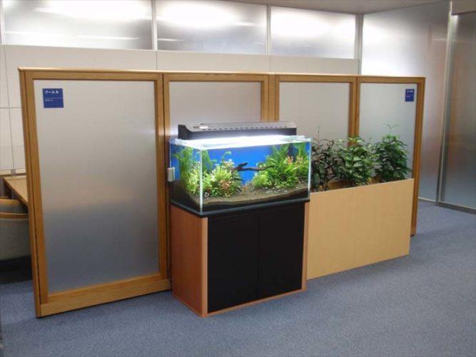 太平洋セメント株式会社様  水槽設置事例 メイン画像