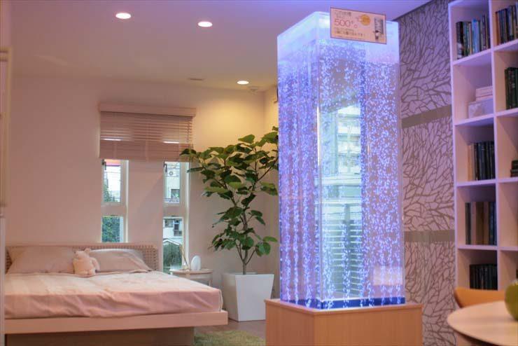 都内 住宅展示場様  アクアポール  水槽設置事例 メイン画像