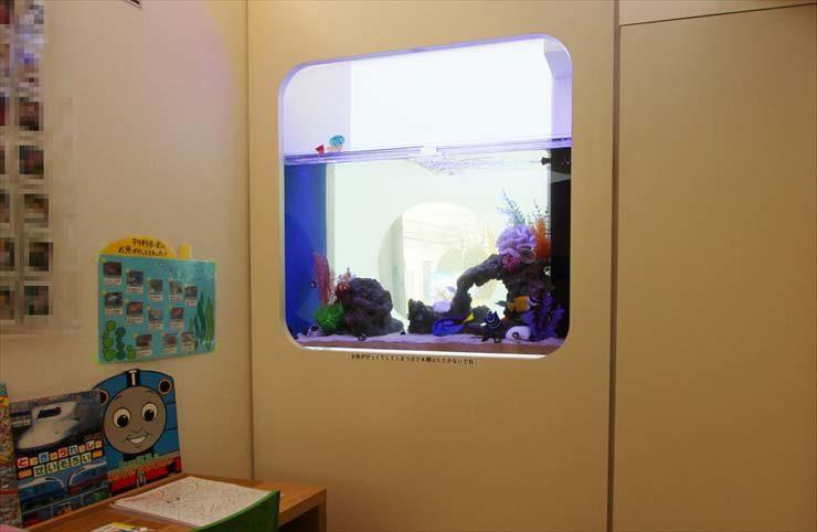 練馬区  歯科医院  95cm海水魚水槽  設置事例 メイン画像