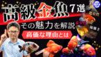 YouTube更新「【高級金魚】優雅で美しい高級金魚の魅力と高価な理由!【全7選】」