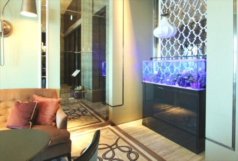 シャングリ・ラ ホテル 東京 様 水槽短期レンタル 水槽画像1