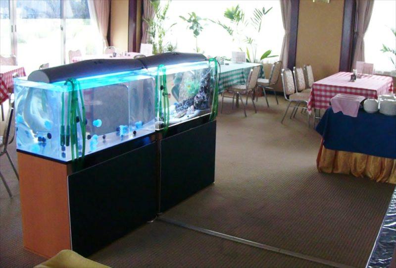 ホテルパインヒル様に海水魚水槽・クラゲ水槽を設置 水槽画像3