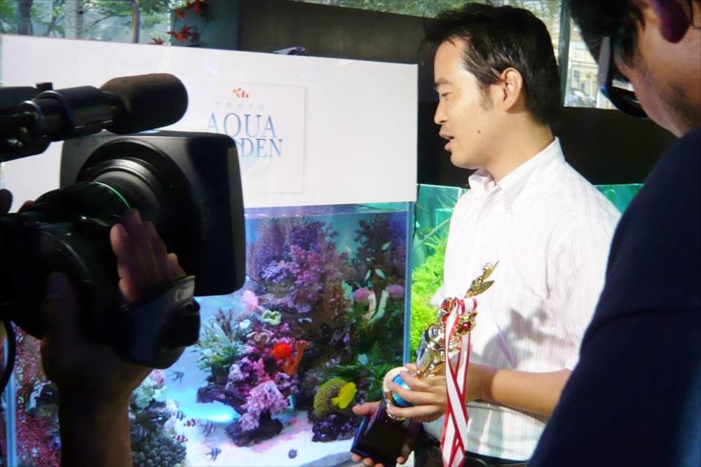 アクアリオ2007優勝・表彰式・インタビュー