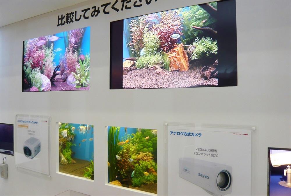 商品展示水槽