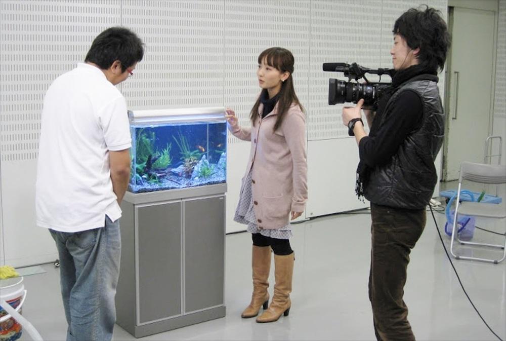 BS朝日『水槽の楽園』 60cm淡水魚水槽設置 メンテナンス講義 メイン画像
