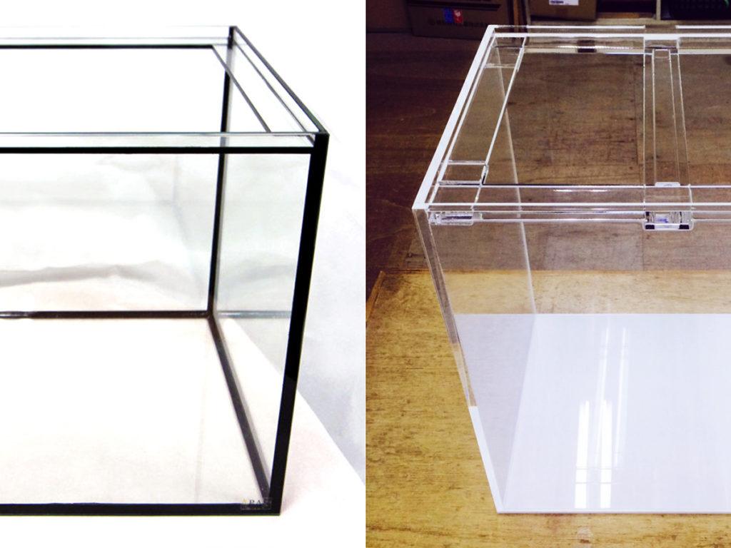 ガラス水槽とアクリル水槽を徹底比較!素材ごとのメリット・安全性・耐久性・価格 水槽画像