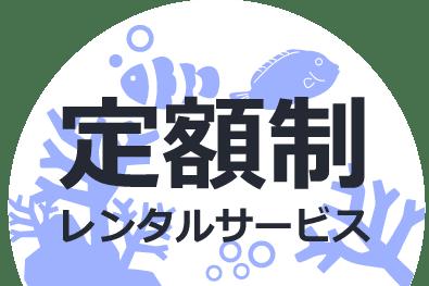東京アクアガーデンの水槽レンタルサービスは定額制です。