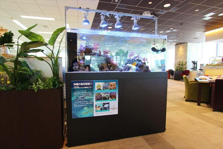 オフィス 企業 水槽レンタル 休憩室